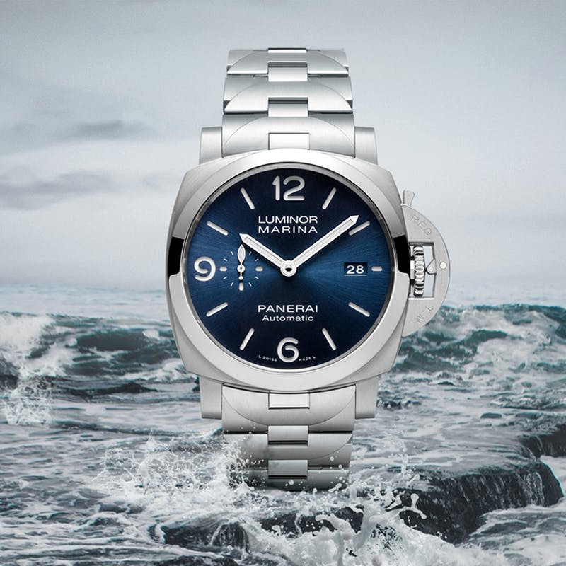 Panerai homepage Sept 2020