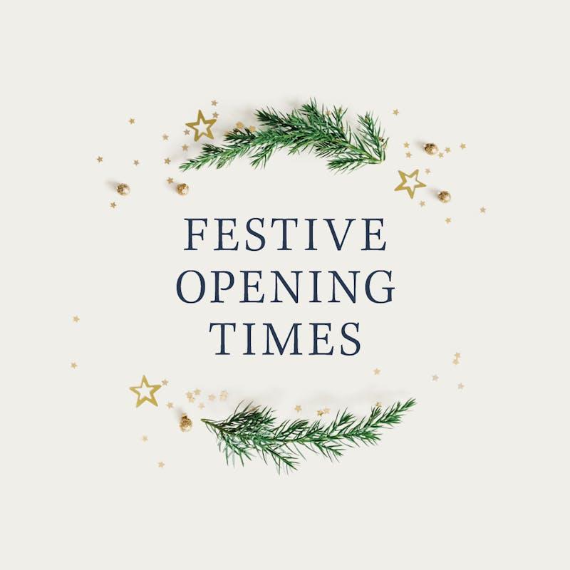 3928 JC Festive Opening Times 0 2