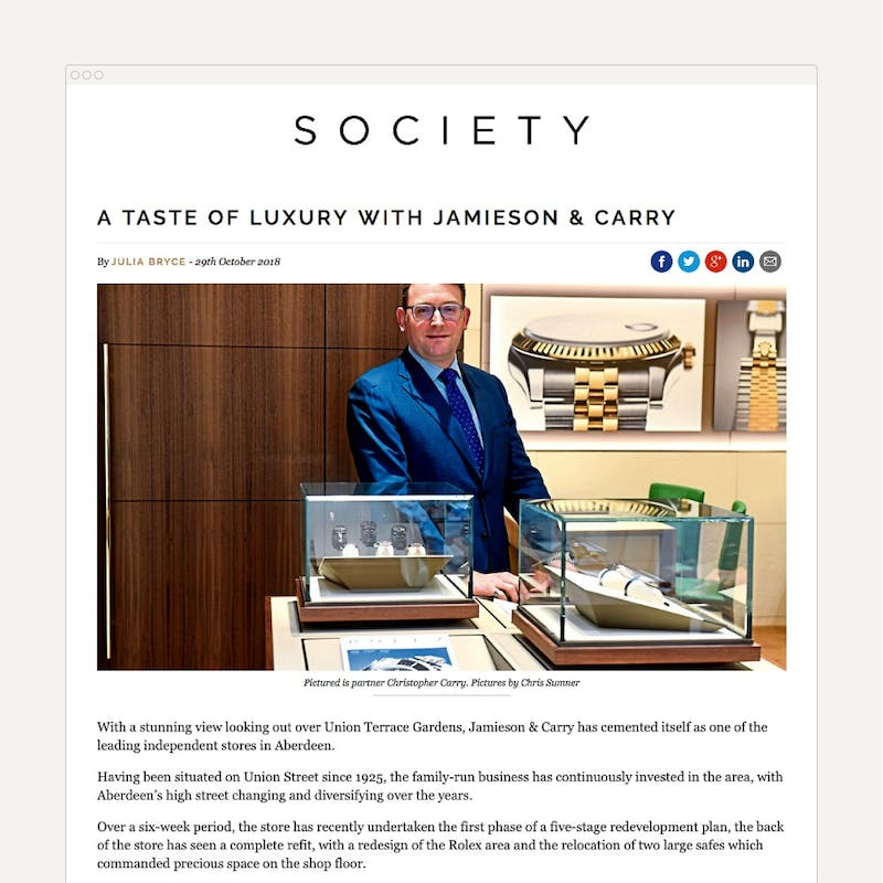 A taste of luxery with Jamieson Carry Society 1000 1000