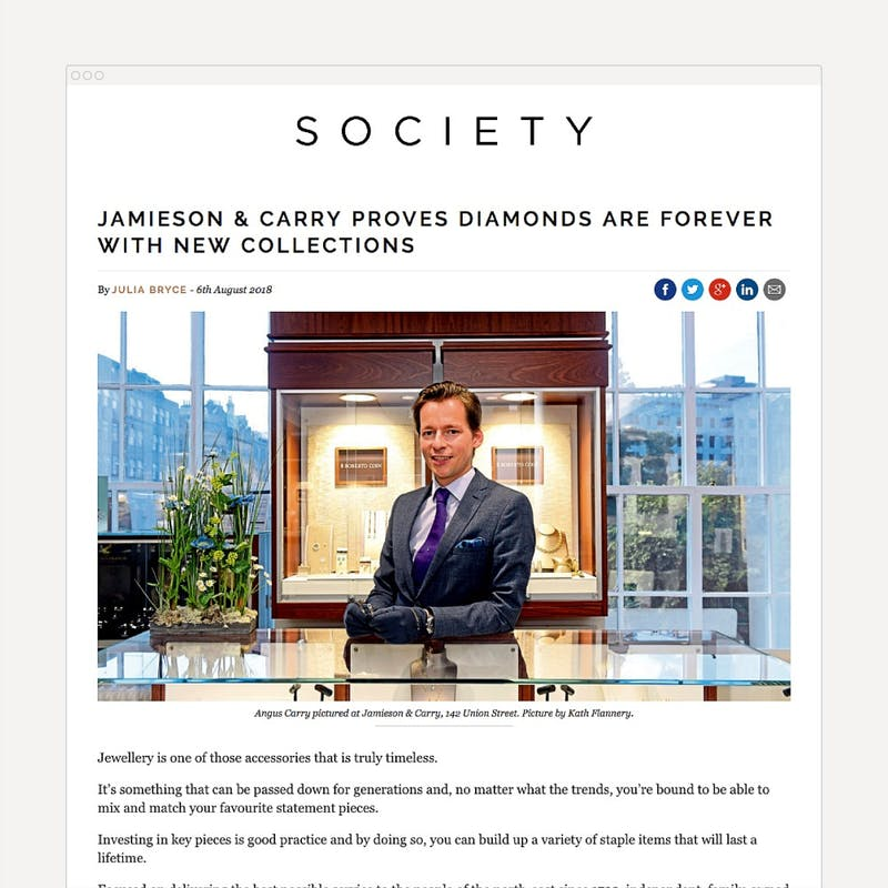 Diamonds are forever Jamieson Carry Society 1000 1000